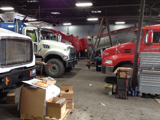 Commercial Truck Shop & Repairs in West Milton